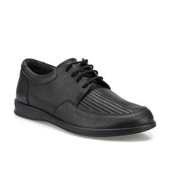FLO 160001 M czarne męskie klasyczne buty Polaris tanie i dobre opinie Neopren