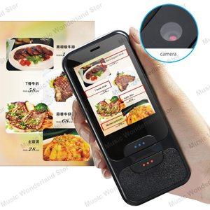 Image 2 - Dokunmatik ekran akıllı dil çevirmeni 2.4 inç WiFi taşınabilir ses fotoğraf çeviri çoklu dil çevirmen Mic hoparlör