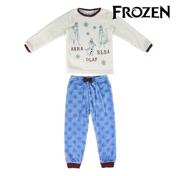 Pijama para niños 74750 congelado azul blanco