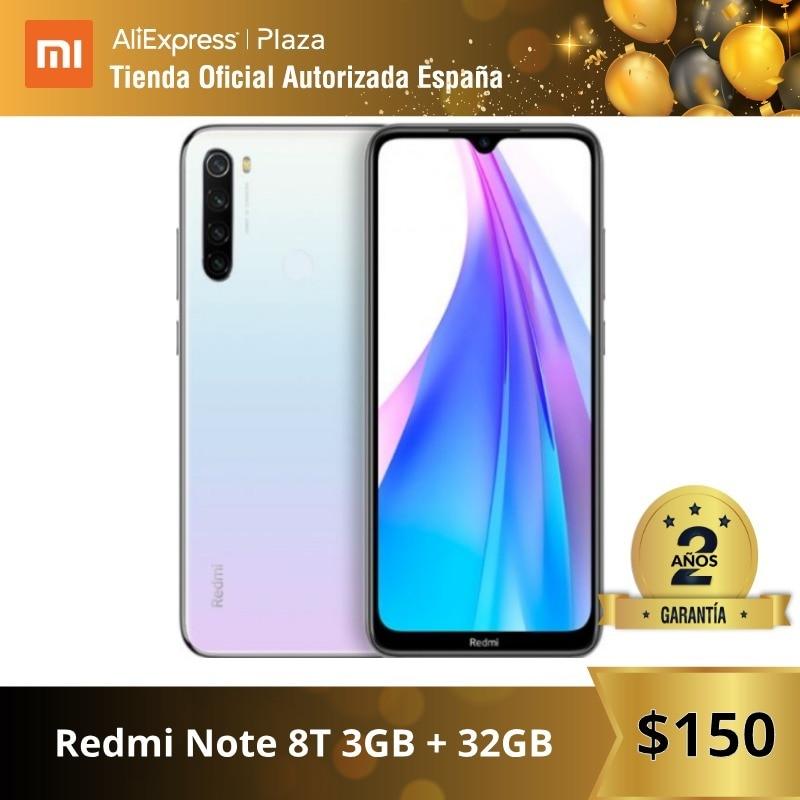 Note 8T (32GB ROM 3GB RAM, 13MP Frontal Cámara, Batería De 4000 MAh, Android, Nuevo, Libre) [Teléfono Movil Versión Global]