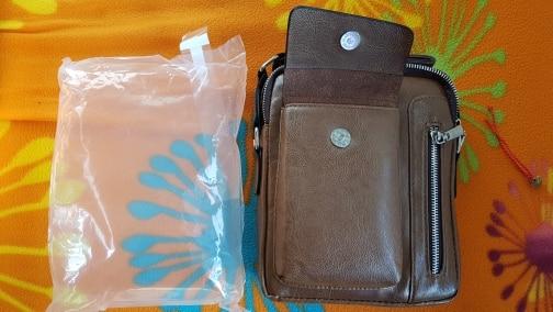 Vintage Aviation Crossbody Bag photo review