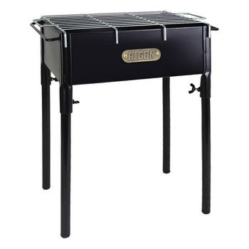 Charcoal Barbecue with Stand Algon Black (23 X 33 cm)