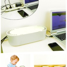 Cable organizer It organizes your cables and provides safety for your children in your workplace, office and home.