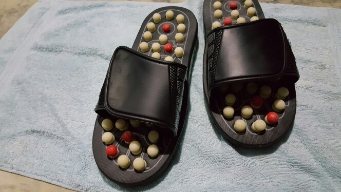 Acupressure Reflexology Foot Massage Slippers Unisex photo review