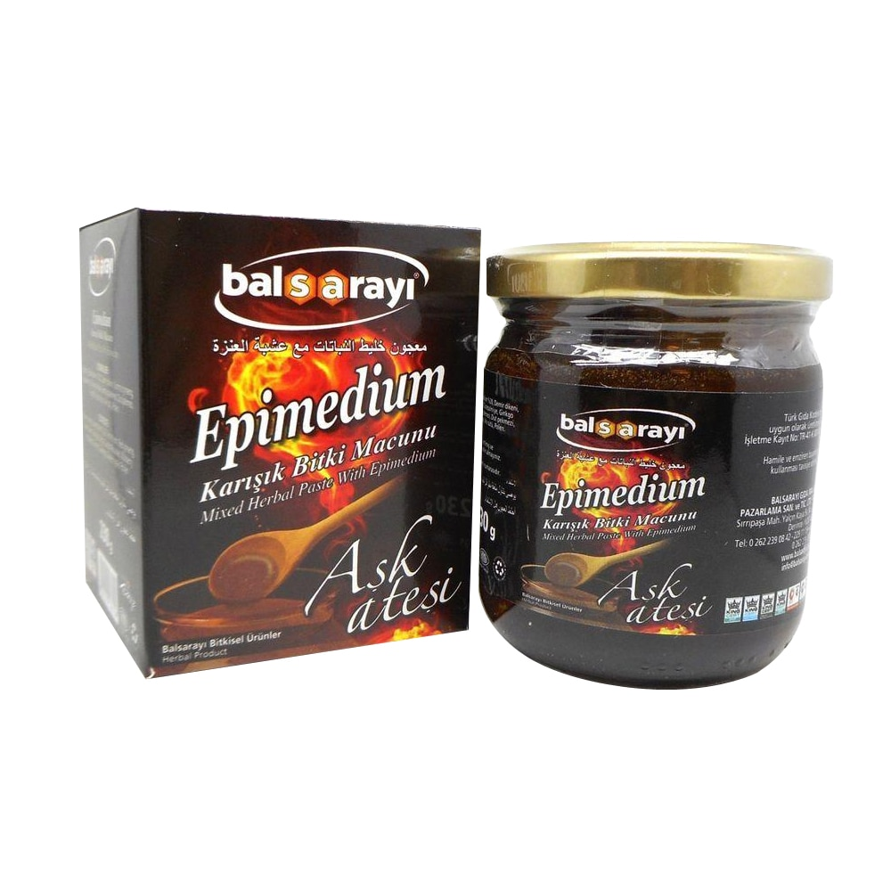 Super Epimedium Herbal Mixture Paste for Men & Women Turkısh Epimedium Paste Horny Goat Grass, Ginseng Herbal Aphrodisiac