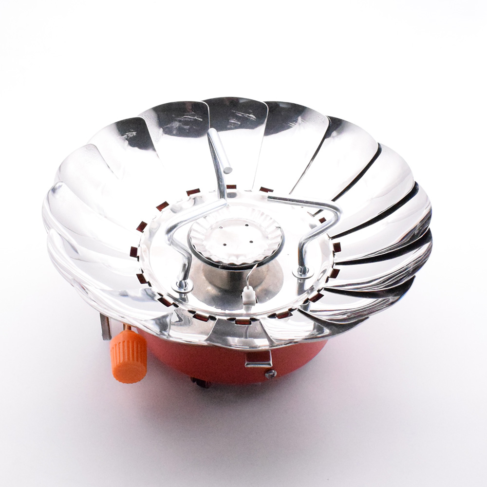 LIAN HUA ZAO Camping Outdoor Gas Stove, Camping Gas Burner, Foldable Electronic Stove, Camping, Portable, Foldable