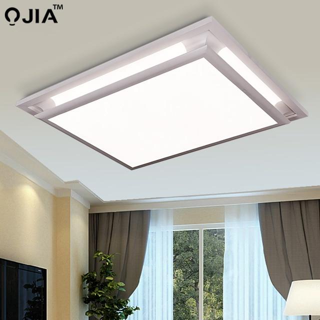 Led ceiling lights square white dimmer or switch for sitting room retange led commercial ceiling light fixtures luminaria teto