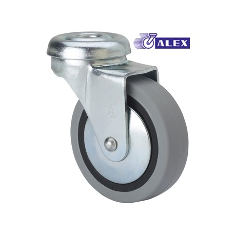 ROTATING WHEEL 030MM 1-0215 AG/PAS 015 KG. SMOOTH GOM N/G BD PGI ALEX