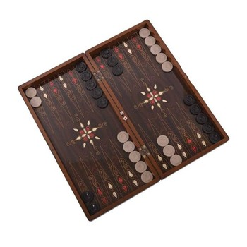 Yenigün Pistachios Backgammon Set Big size