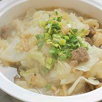 牛肉丸子烩白菜的做法图解9