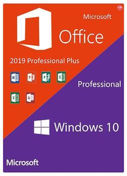 Code key activation multilingual Windows 10 Professional + Office 2019 Pro Plus 2019