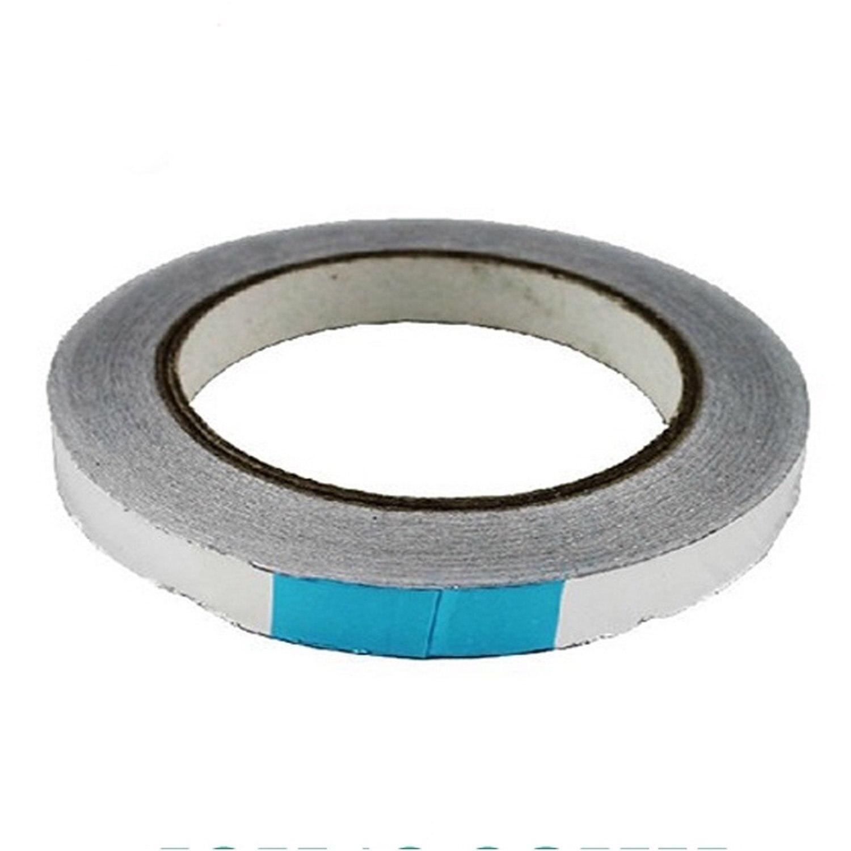 Adhesive Tape Aluminium 10 mm 50 meters excellent original 3 pcs 923s japan nitto denko nitoflon ptfe adhesive tape t0 10mm w50mm l33m