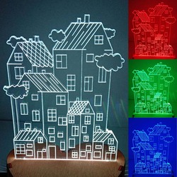 N-043 Home cloud-3D USB led Eco-friendly lamp night light, hand, table night light, home decor,