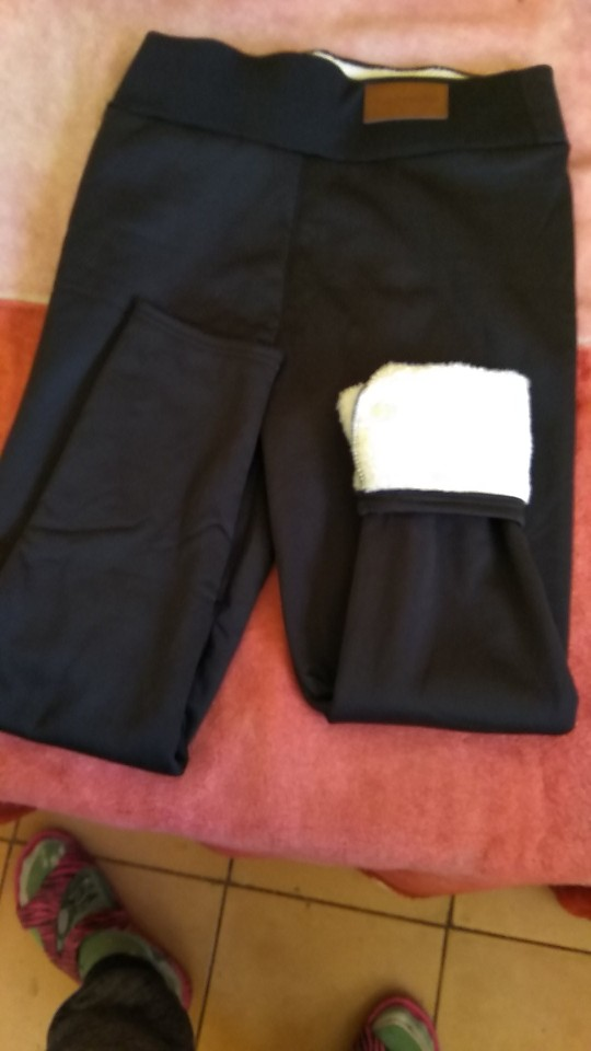 Super Thick Cashmere Wool Leggings - keepvideo photo review