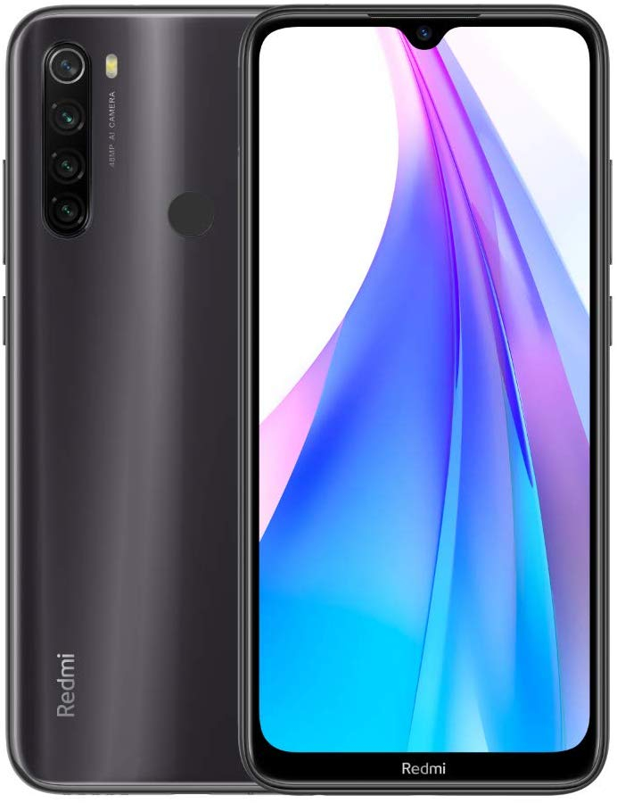 Phone Xiaomi Redmi Note 8 T, Gray Color (Grey), 64 GB Of Internal Memory 4 GB RAM, Global Version, Payment By NFC,