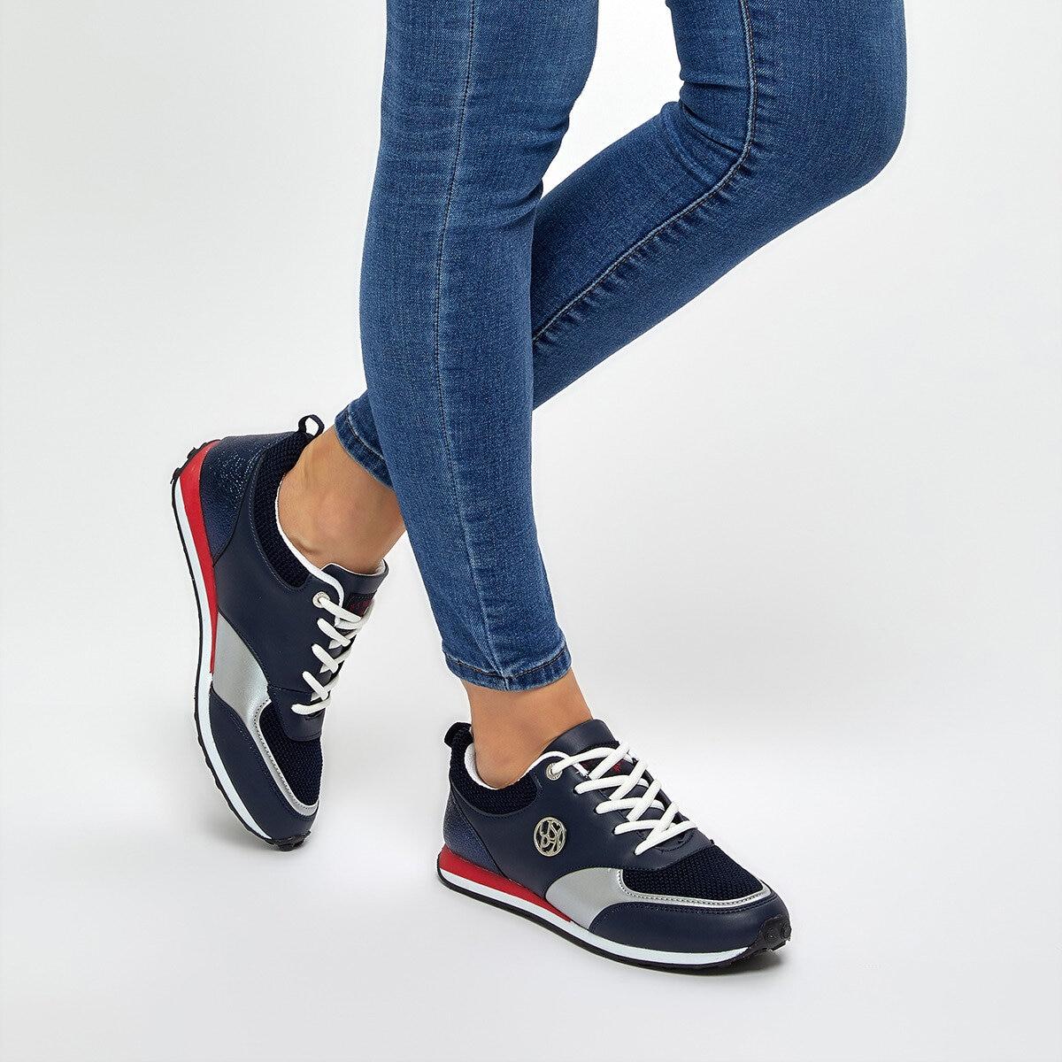 FLO ARES Navy Blue Women 'S Sneaker Shoes U.S. POLO ASSN.