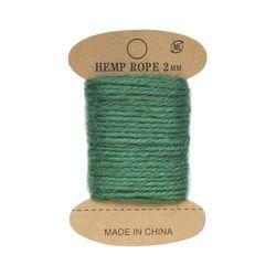 Cuerda de yute, 10 m (esmeralda verde)