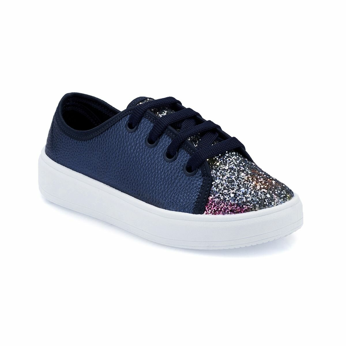 FLO 82.510664.F Navy Blue Female Child Sneaker Shoes Polaris