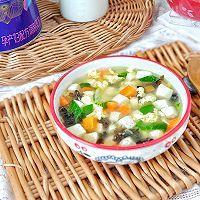 时蔬豆腐汤的做法图解8