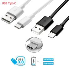 Cable Micro USB Tipo C 3.1 de Carga y Datos para movil longitud 1 metro 2 metros