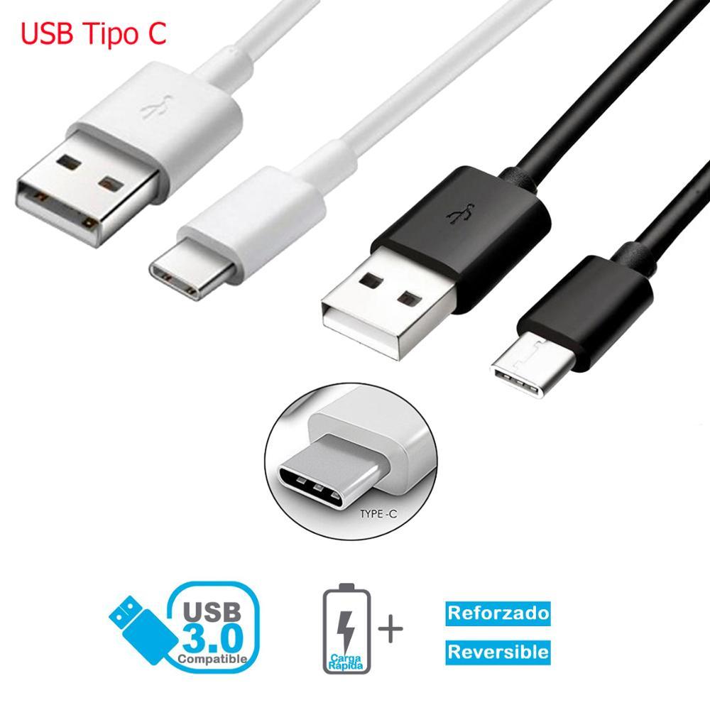 Câble Micro USB Tipo C 3.1 de Carga y Datos para movil longitud 1 métro 2 métros