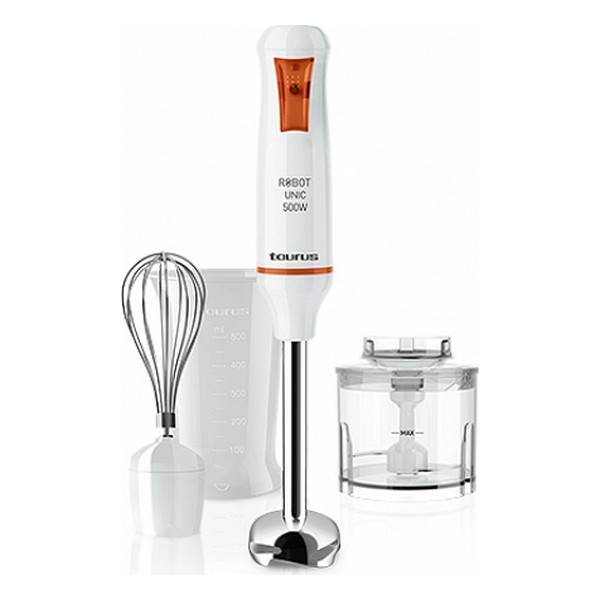 Stick Blender Taurus Robot Unic 500 Plus Inox 500W White