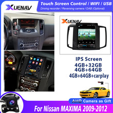 2 din rádio android 10 para nissan maxima 2009 2010 2011 2012 navegação gps dvd receptor estéreo autoradio multimídia jogador