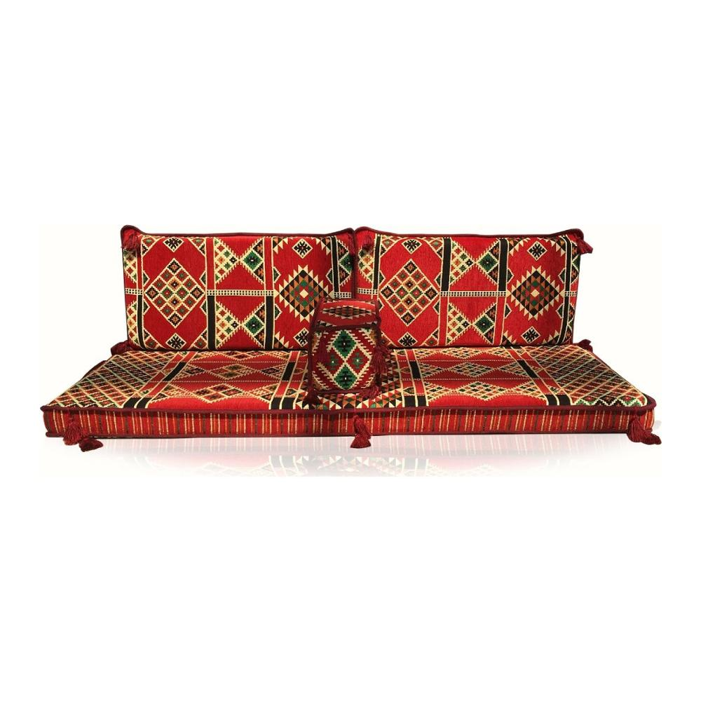Furniture-Cushion Seating-Decor-Set Hookah Arabic Couch Floor Sofa Oriental Majlis Made-In-Turkey title=
