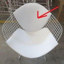 Кресло Bertoia только с подушкой сиденья в белом или красном