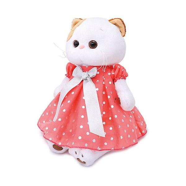 Soft Toy Budi Basa Cat It-It In Red Cap, 24 Cm