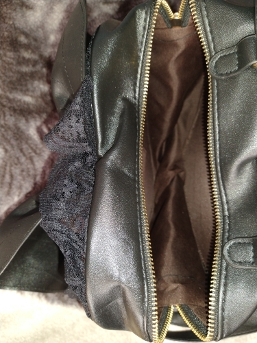 Women Backpack with Bat Wings and Lace photo review