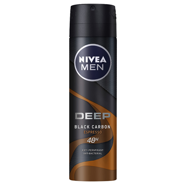 Spray Deodorant Men Deep Spresso Nivea (150 Ml)
