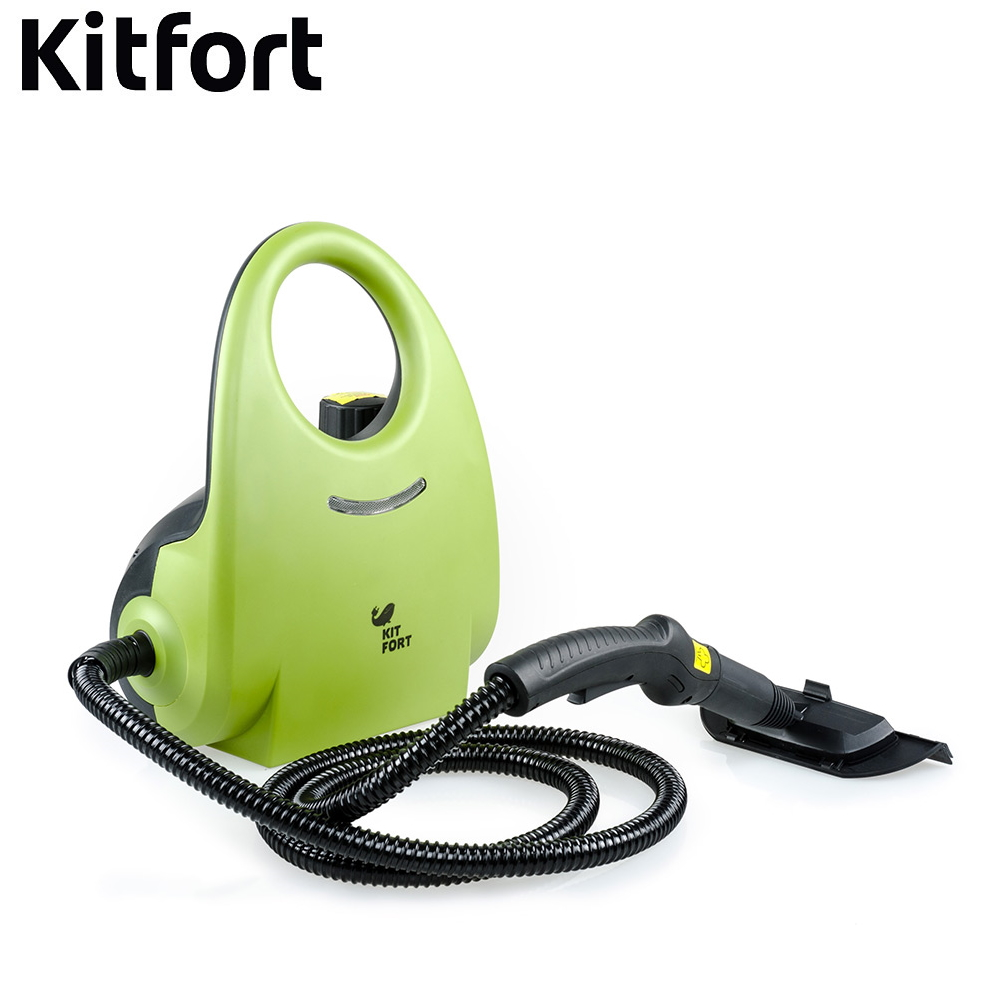 Steam Cleaner Kitfort КТ-904 Handheld Steam Cleaner Household appliances for kitchen Electric Cleaning steam High pressure cleaner 2pcs set high quality steam cleaner brushes round brush for karcher sc952 sc1052 sc1122 sc1125 sc1402 sc1475