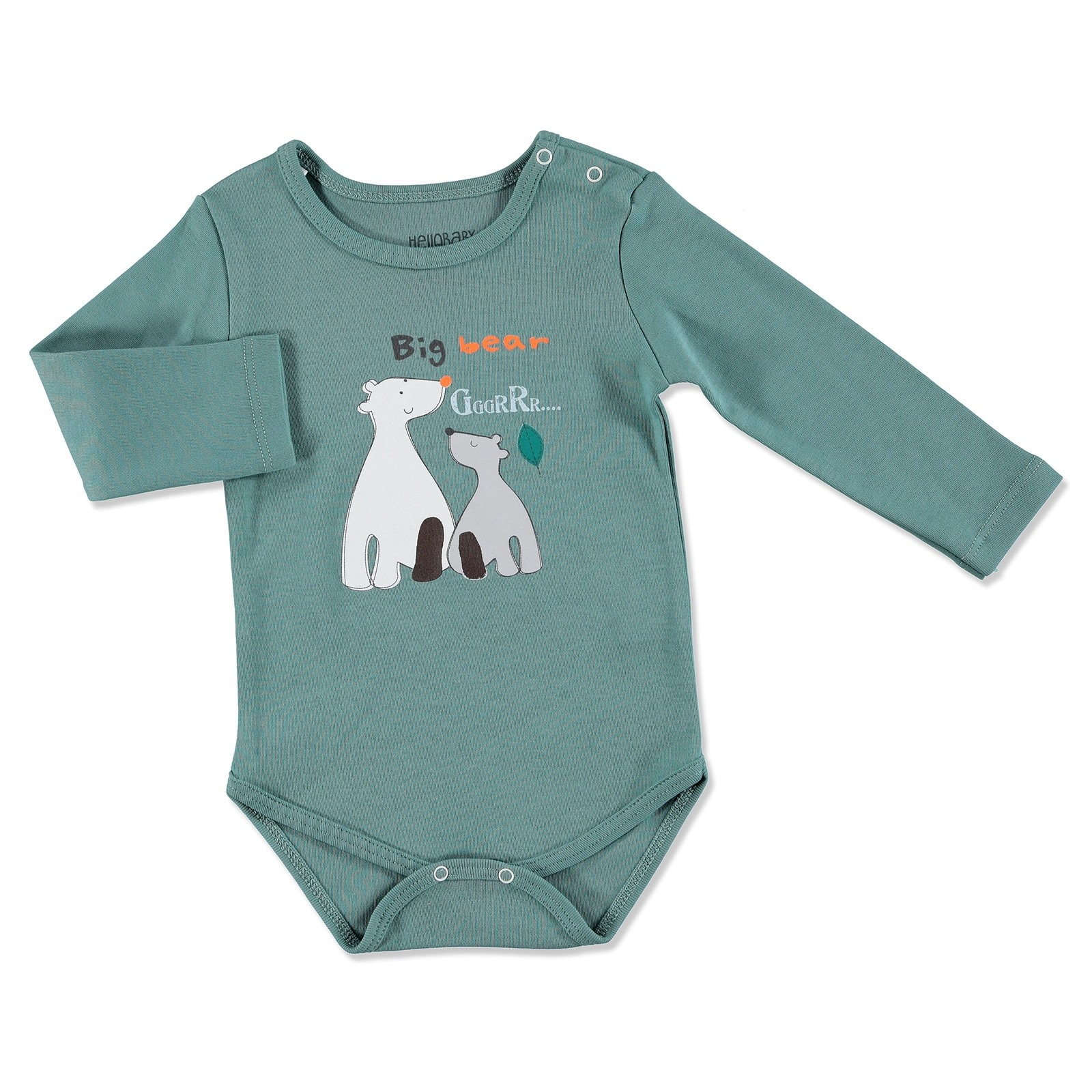 Ebebek HelloBaby Forest Party Baby Long Sleeve Bodysuit