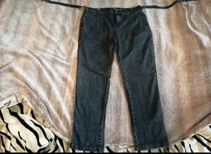 Fashion Women High Waist Jeans Solid Color Slim Zipper Push Up Streetwear Jeans Plus Size High Stretch Pencil Jeans photo review
