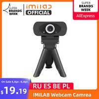 Webcam 1080P Full HD Imilab Web Camera Built-in Microphone Rotatable USB Plug Web Cam For PC Computer Mac Laptop Desktop