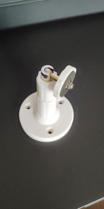 Muurmontering van roterende plafonbeugel vir 90 grade muurmontering vir veiligheidskamera vir kringtelevisie