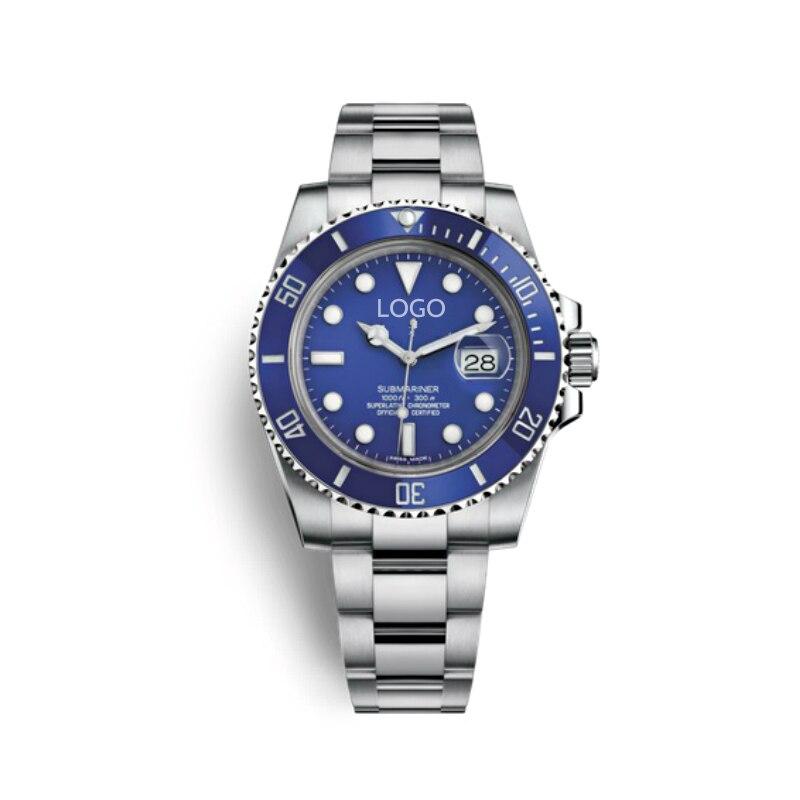 Men Watches Luxury Brand Sapphire Glass Quartz Mechanical Men Watch Sports Waterproof Male Wrist Watch Free Shipping Dropship