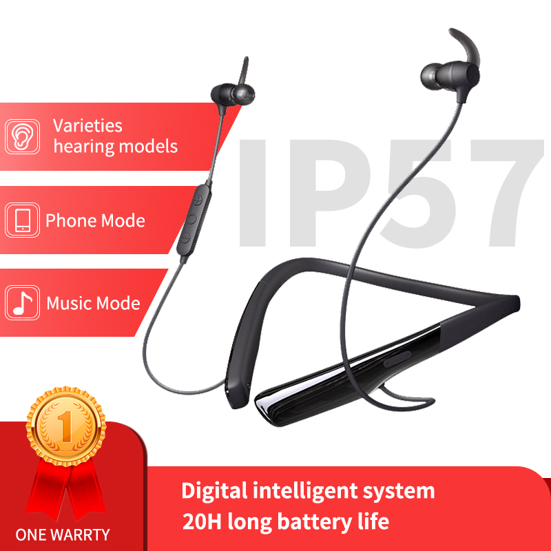 Digital Hearing Aids Earphone Wireless Bluetooth Amplifier First Aid Kit Ears Adjustment Tools For Deafness Fashion Dropshipping