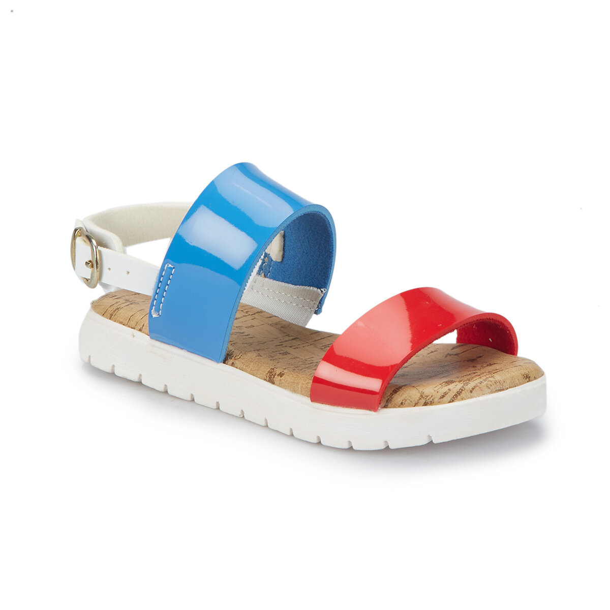 FLO DILOR Blue Girl Child Sandals PINKSTEP