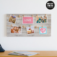 Oh My Home Photo Frame with Clamps (6 photos)