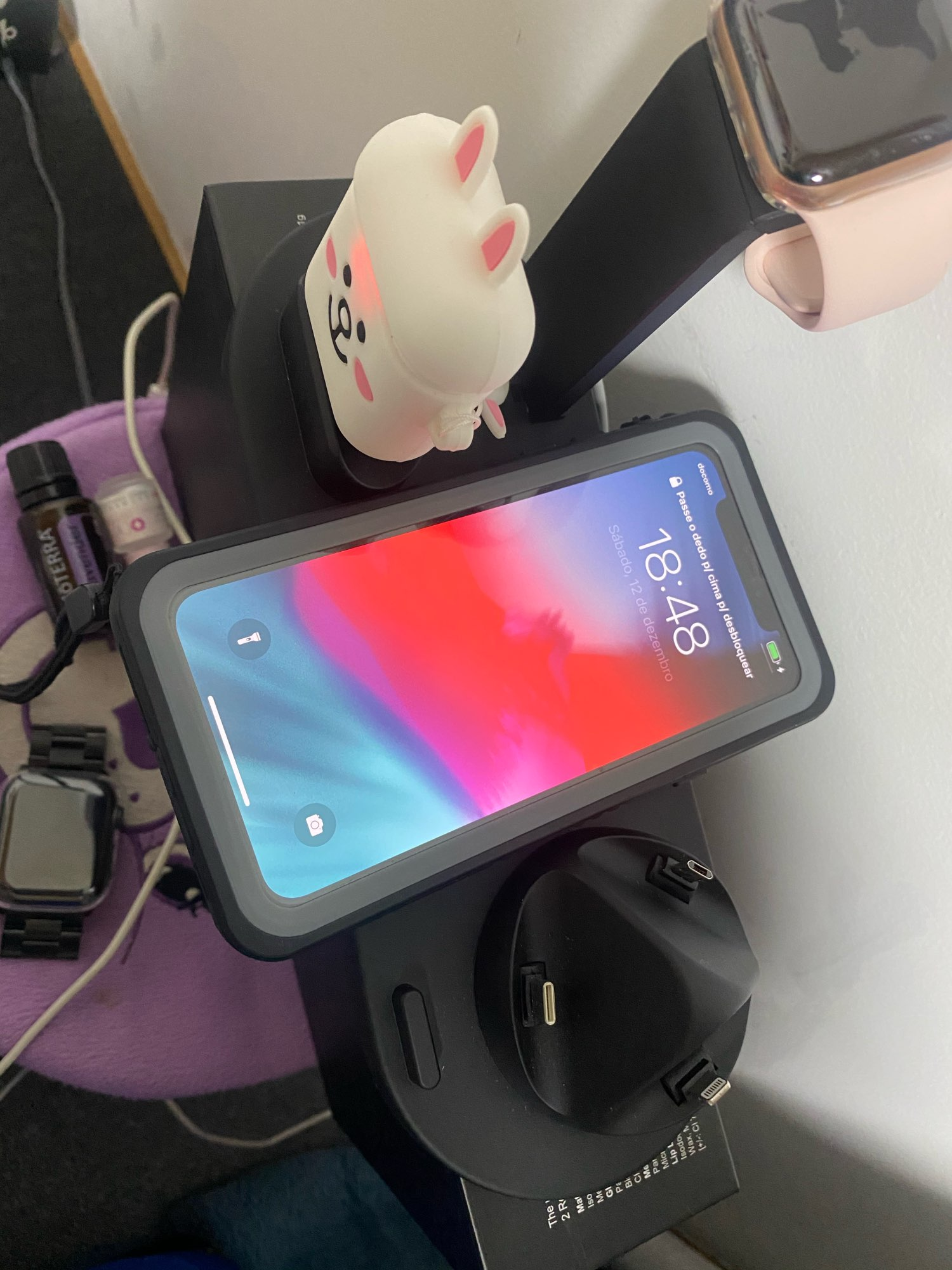 4 in 1 Wireless Charging Stand photo review