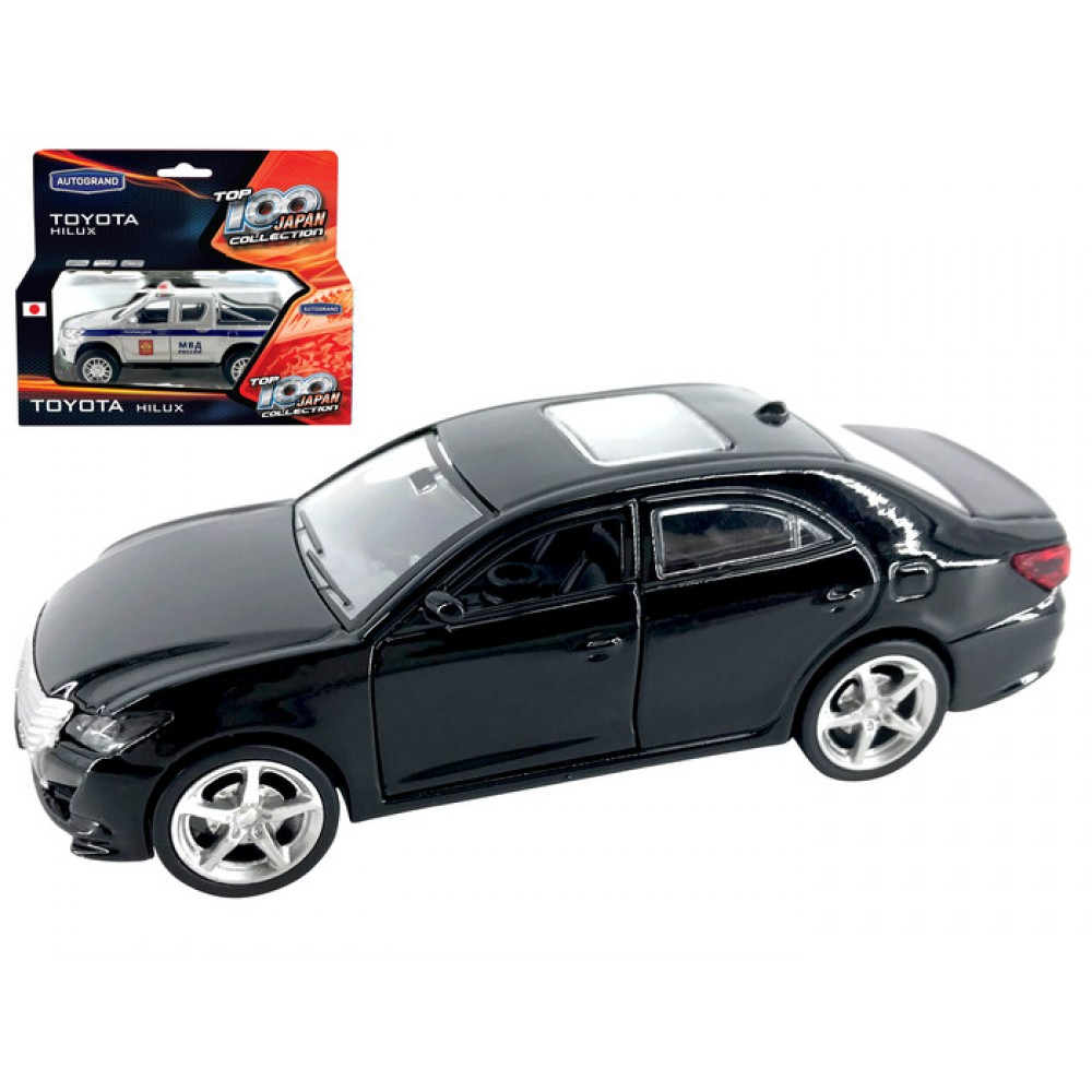 Metal Toy Transport Machine Autogrand Toyota Crown 36