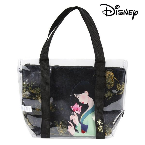 Bag Princesses Disney 72900 Transparent Black