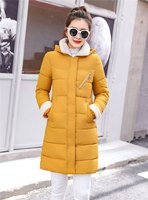 Dugujunyi 2019 New Parkas Female Women Winter Coat Thickening Cotton Winter Jacket Womens Outwear Parkas for Women Winter Long H