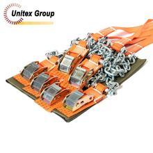 Комплект браслетов противоскольжения Secura 4WD(6шт) для автомобилей массой до 2000кг