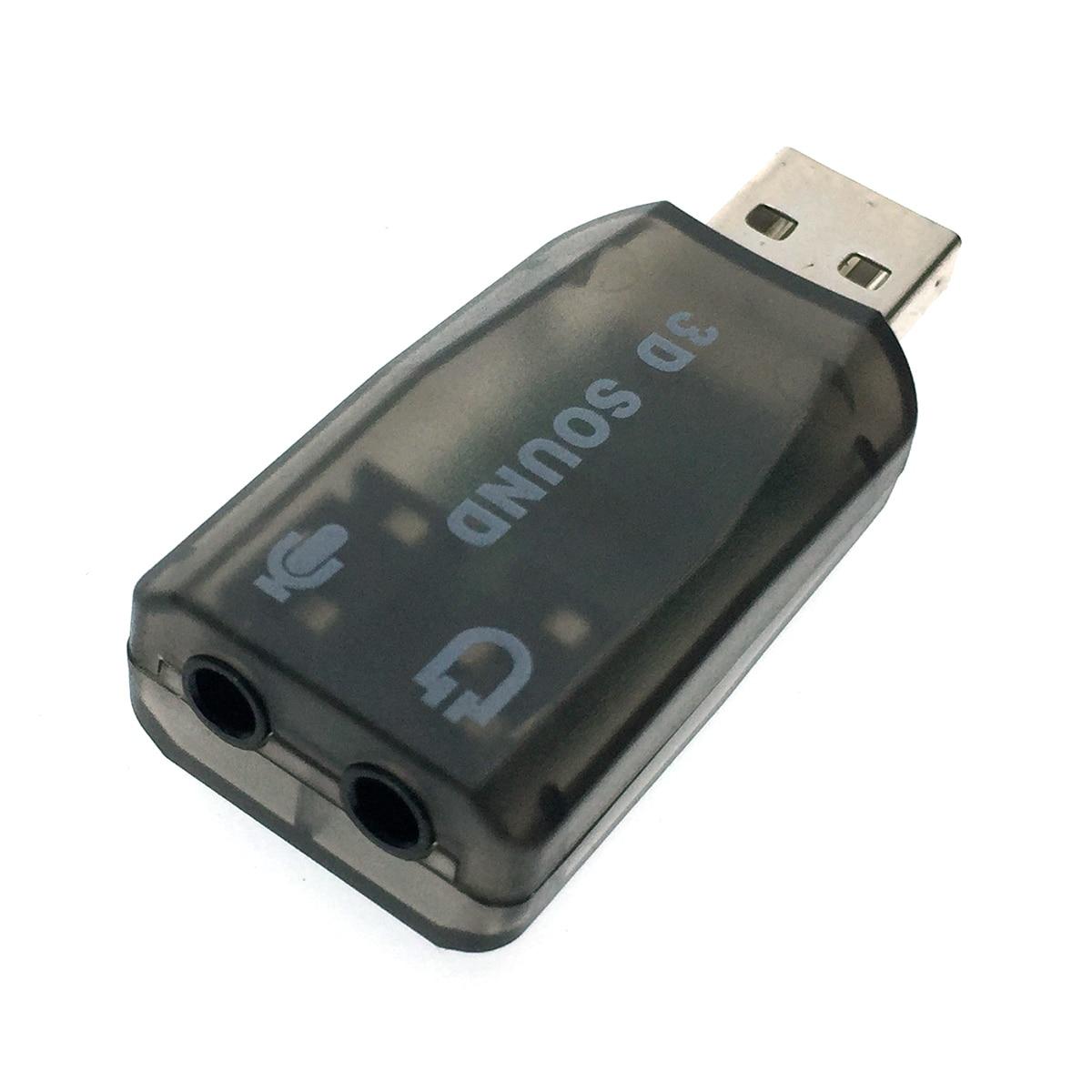 Внешняя звуковая карта USB, модель PAAU001, Espada /для ноутбука/ПК/