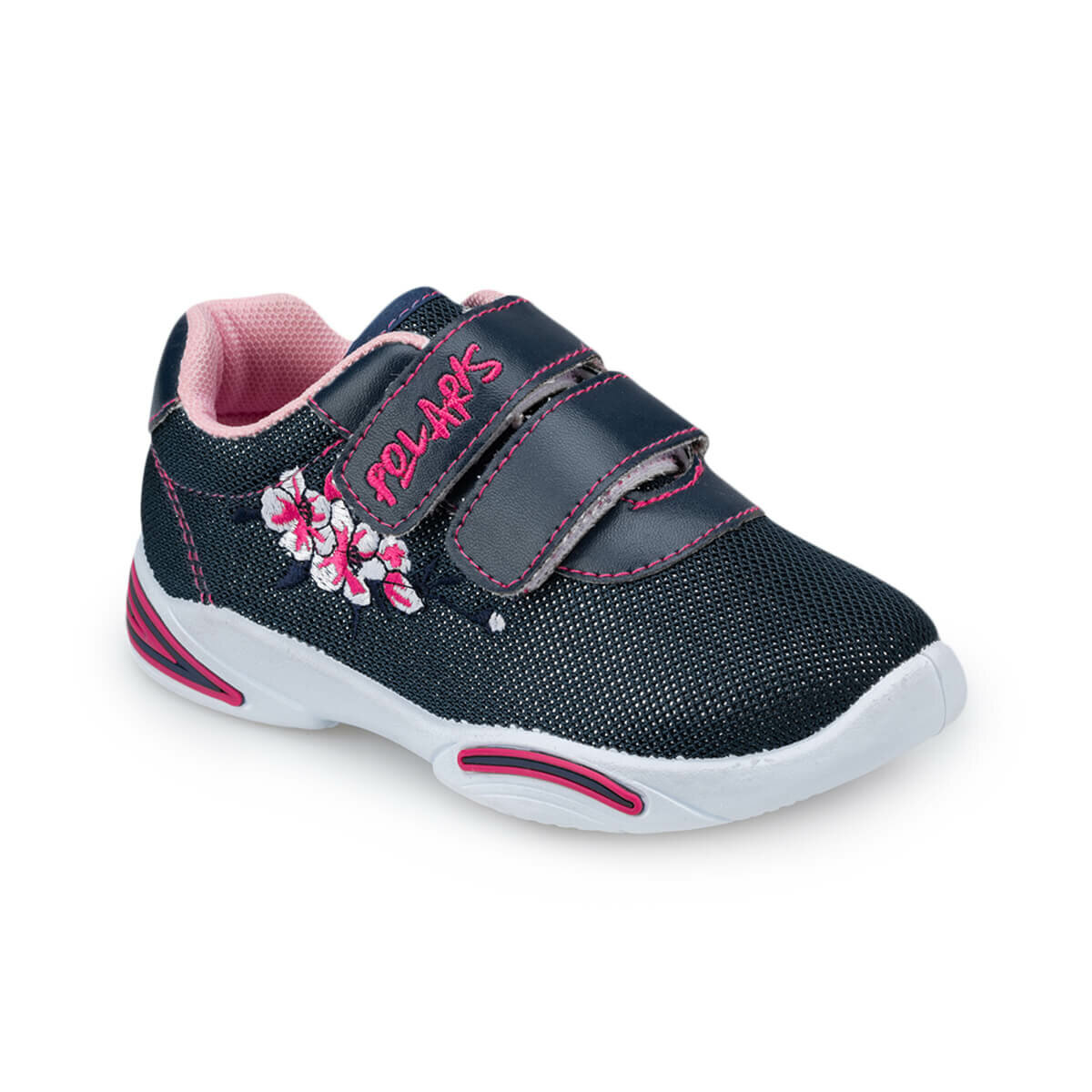 FLO 91.511143.P Navy Blue Female Child Shoes Polaris