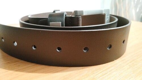 NO.ONEPAUL cow genuine leather luxury strap male belts for men new fashion classice vintage pin buckle men belt High Quality Men's Belts     - AliExpress