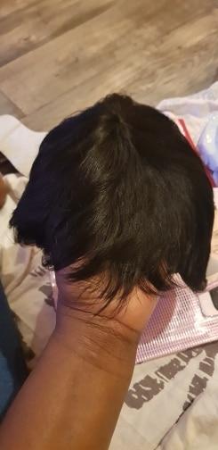 Short Wigs Brazilian Straight Human Hair photo review